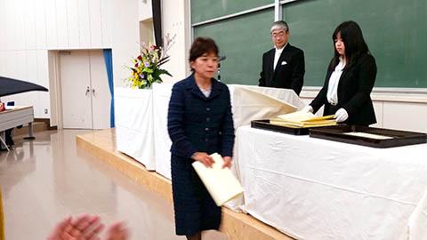 富山大学 合同卒業式・修了式 学...